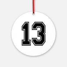13 Ornament (Round)