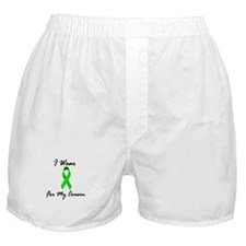 I Wear Lime Green For My Cousin 1 Boxer Shorts