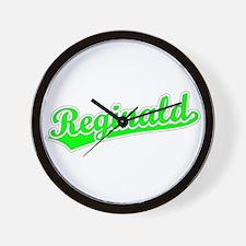 Retro Reginald (Green) Wall Clock