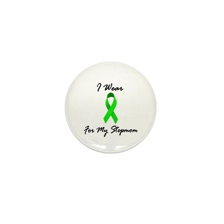 I Wear Lime Green For My Stepmom 1 Mini Button
