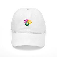 Colorful Hibiscus Baseball Cap