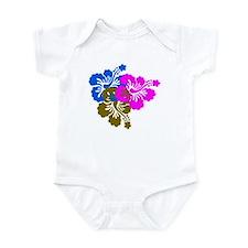 Colorful Hibiscus Infant Bodysuit