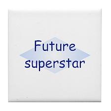 Future Superstar Tile Coaster