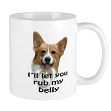 Corgi belly rub Mug
