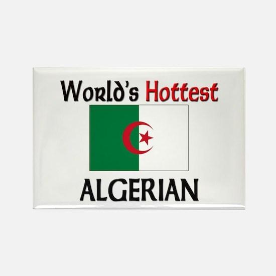 World's Hottest Algerian Rectangle Magnet