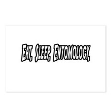 """Eat. Sleep. Entomology."" Postcards (Package of 8)"