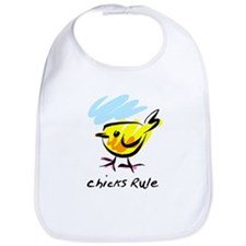 chicks Rule Bib