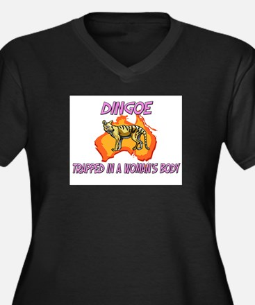 Dingoe Trapped In A Woman's Body Women's Plus Size