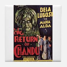 The Return of Chandu Tile Coaster