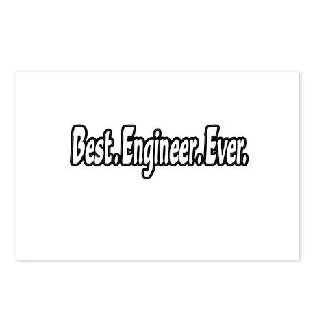 """Best. Engineer. Ever."" Postcards (Package of 8)"