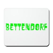 Bettendorf Faded (Green) Mousepad