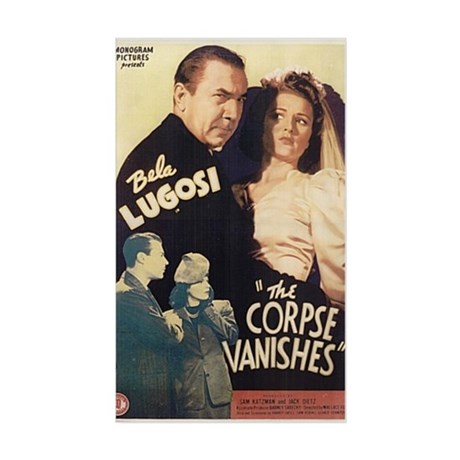 The Corpse Vanishes Rectangle Sticker