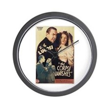 The Corpse Vanishes Wall Clock