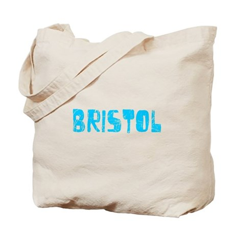 Bristol Faded (Blue) Tote Bag
