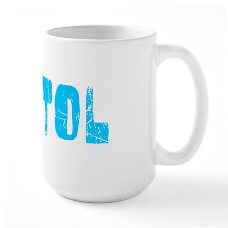 Bristol Faded (Blue) Large Mug