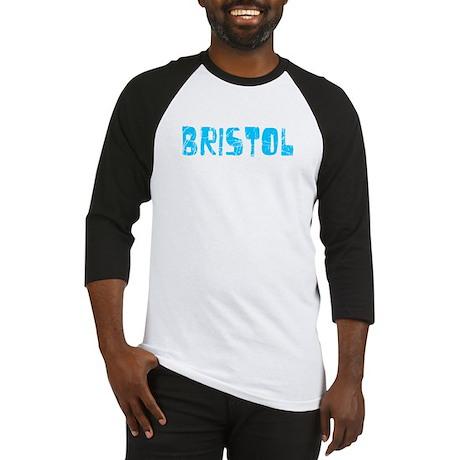 Bristol Faded (Blue) Baseball Jersey