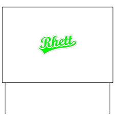 Retro Rhett (Green) Yard Sign
