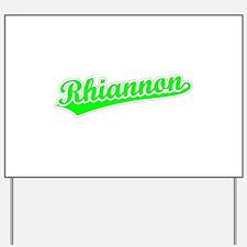 Retro Rhiannon (Green) Yard Sign