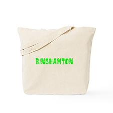 Binghamton Faded (Green) Tote Bag