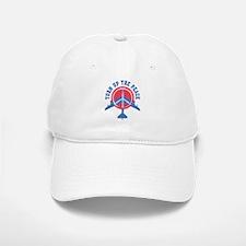Turn Up The Peace Baseball Baseball Cap
