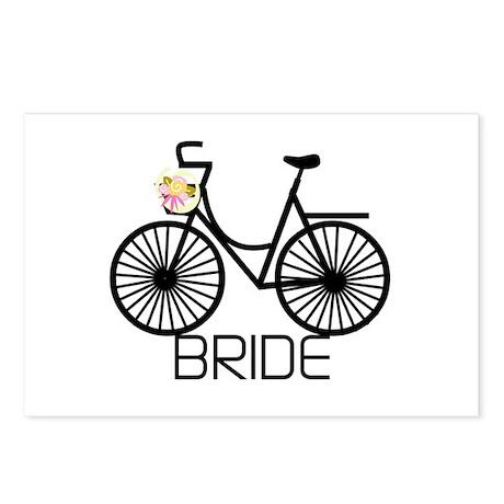 Bicycle Bride Postcards (Package of 8)