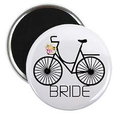 Bicycle Bride Magnet