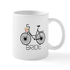 Bicycle Bride Mug