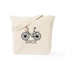 Bicycle Bride Tote Bag
