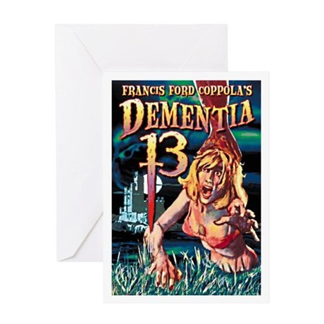 Dementia 13 Greeting Card