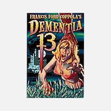 Dementia 13 Rectangle Magnet