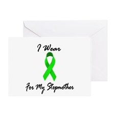 I Wear Lime Green For My Stepmother 1 Greeting Car