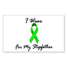 I Wear Lime Green For My Stepfather 1 Decal