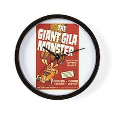 The Giant Gila Monster Wall Clock