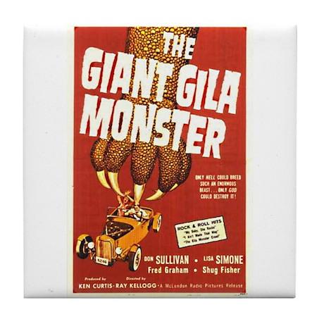 The Giant Gila Monster Tile Coaster