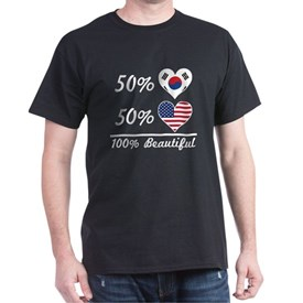 50% Korean 50% American 100% Beautiful T-Shirt