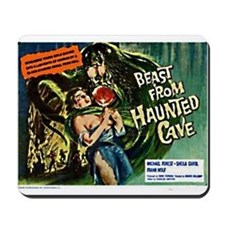 Beast From Haunted Cave Mousepad