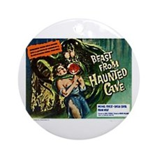 Beast From Haunted Cave Ornament (Round)