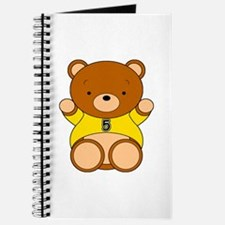 Four Year Old Bear Journal