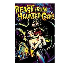 Beast From Haunted Cave Postcards (Package of 8)
