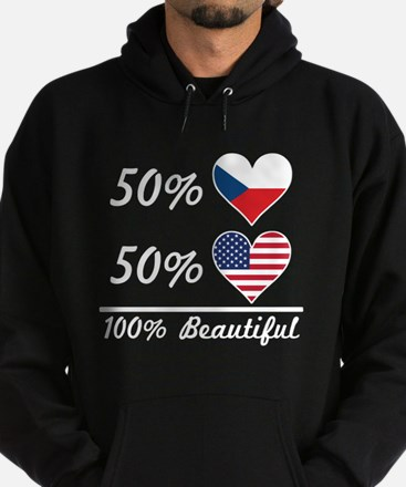 50% Czech 50% American 100% Beautiful Sweatshirt