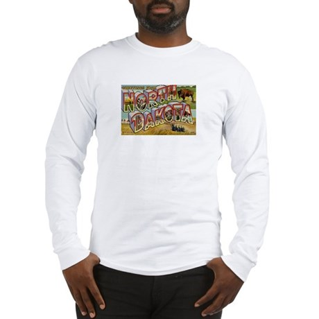 NORTH DAKOTA ND Long Sleeve T-Shirt