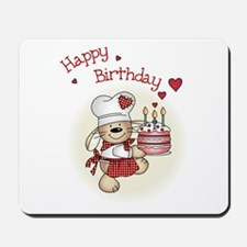 Birthday cake Mousepad