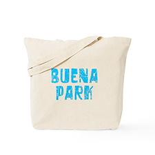 Buena Park Faded (Blue) Tote Bag