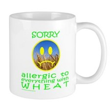 ALLERGIC TO WHEAT Mug
