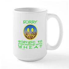 ALLERGIC TO WHEAT Mug