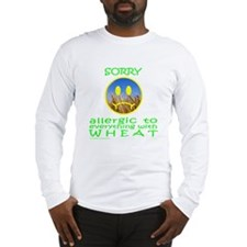 ALLERGIC TO WHEAT Long Sleeve T-Shirt