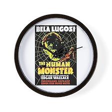 The Human Monster Wall Clock