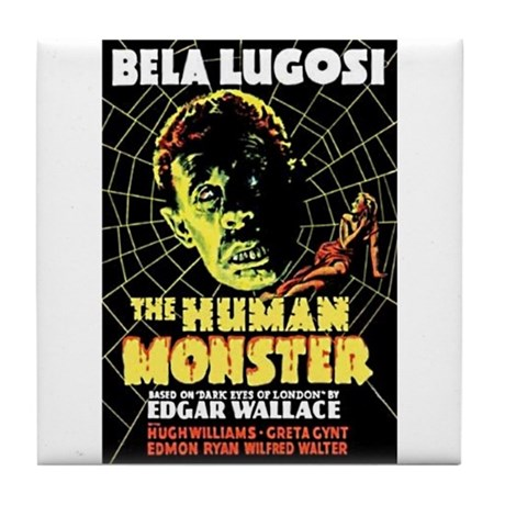 The Human Monster Tile Coaster