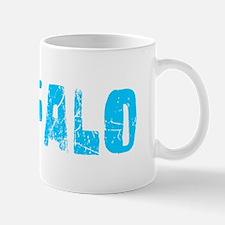 Buffalo Faded (Blue) Mug