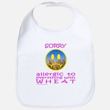 ALLERGIC TO WHEAT Bib